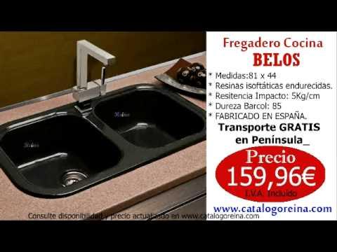 Fregaderos baratos fregadero belos youtube for Fregaderos baratos