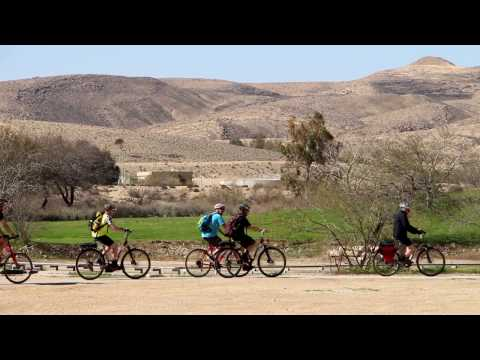 Swiss Cyclists Pedal from Jerusalem to Eilat