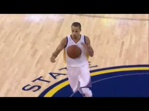 Stephen Curry behind-the-back dribble, behind-the-back pass to Klay Thompson: Pelicans at Warriors