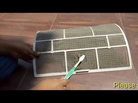 How to clean air conditioner filters at home