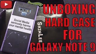 Unboxing And Review Of Galaxy Note 9 Hard Case| Best Mobile Cover [Hindi/Urdu] By Sara