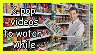 K-pop videos to watch while you calculate your expenses for groceries (Collab w/ Bangtansonotdone)