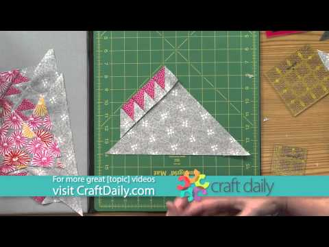 Make A Feathered Star Block