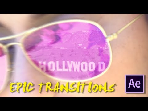 Epic Sunglasses Zoom Transition Tutorial (Andreas Hem Effect) | After Effects CC 2017