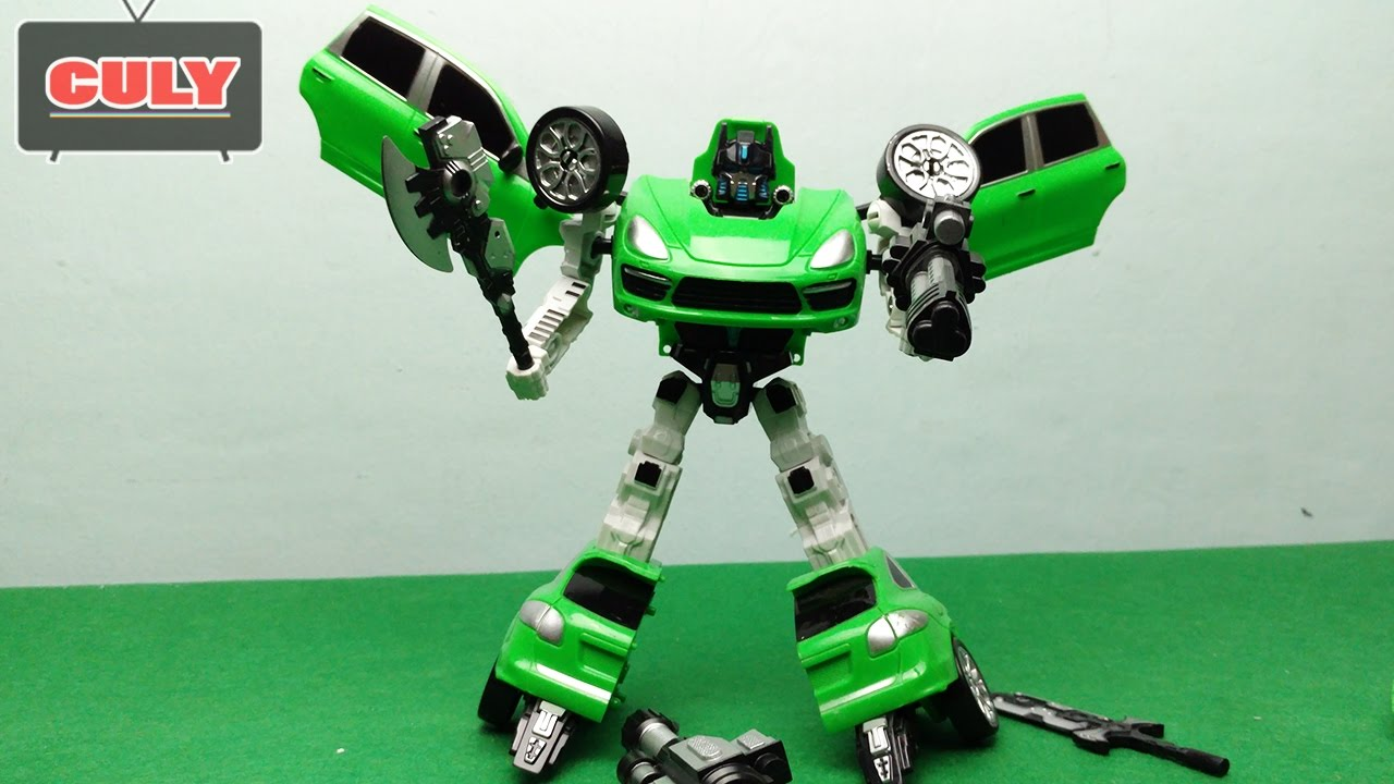 Xe biến hình Robot Transformer Justice Force Warrior Toy Childrens Đồ chơi trẻ em - YouTube