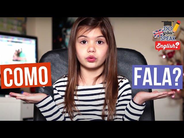 Pronúncia em inglês | Londres na Latinha #3