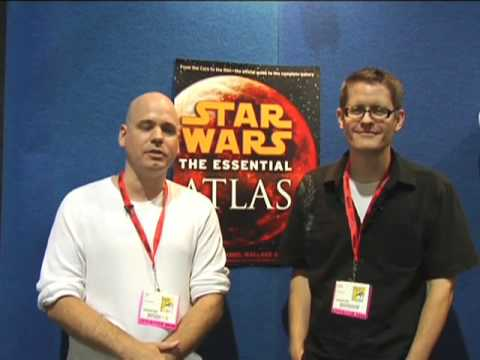 Dan Wallace & Jason Fry on the Maps of Star Wars: The Essential Atlas | SDCC 2009