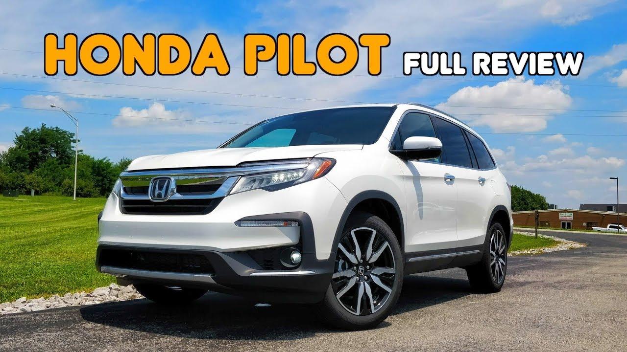 2019 Honda Pilot: FULL REVIEW + DRIVE   Honda's 3-row gets Thoroughly Revamped - YouTube