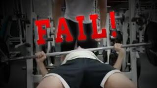 Bench press fail at 170 lbs