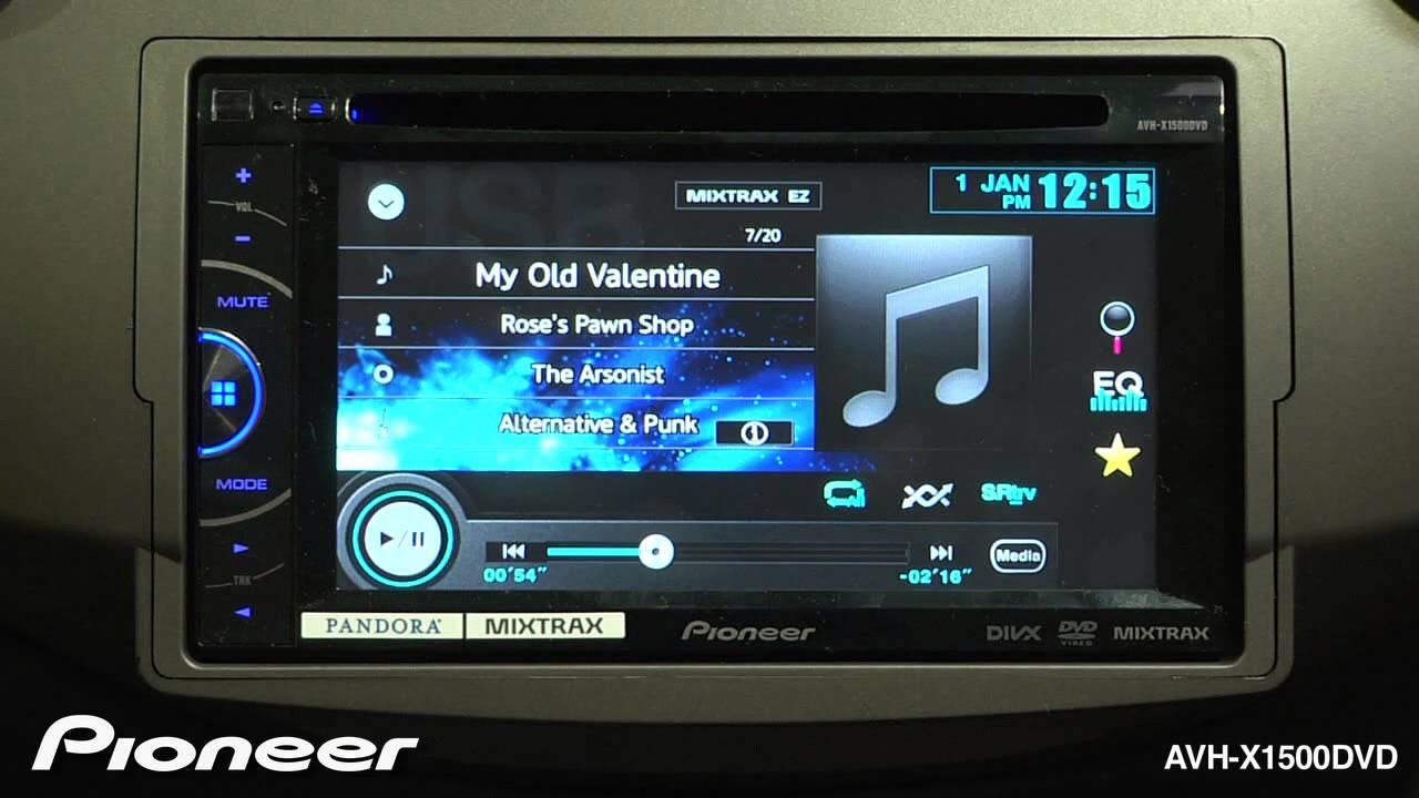 Pioneer Avh X1500dvd Wiring Diagram Ramsey Winch How To Usb Playback Youtube