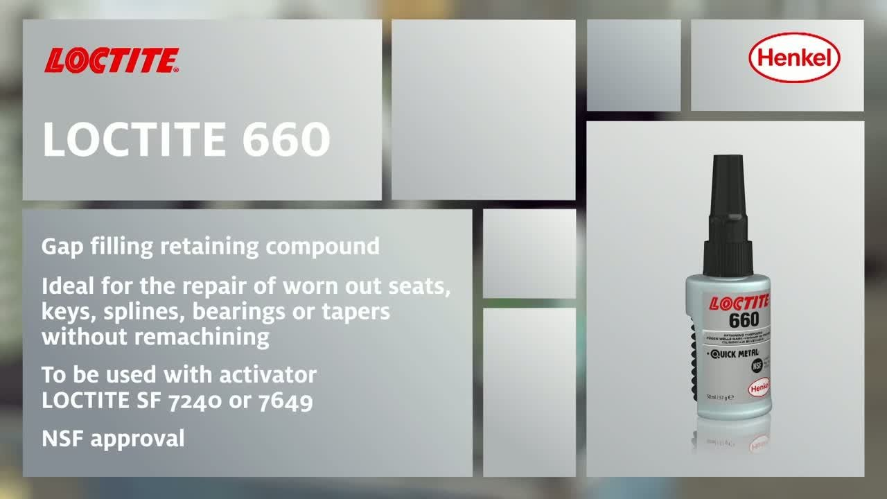 How To Use Loctite 660 Retaining Compound Youtube
