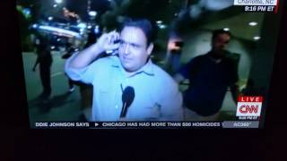 CNN reporter tackled live on air during Charlotte protests