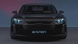 Audi e-tron GT concept - Exterior - Interior - Footage