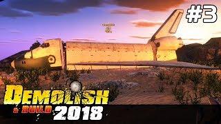 Demolish & Build 2018 GAMEPLAY PL [#3] STATEK KOSMICZNY do ZNISZCZENIA