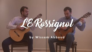 Le Rossignol Guitar Duo Performed by Wissam Abboud