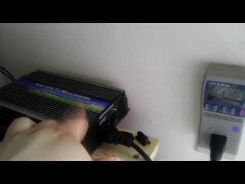 Renewable Apartment - A look at my Grid Tie Micro Inverter u