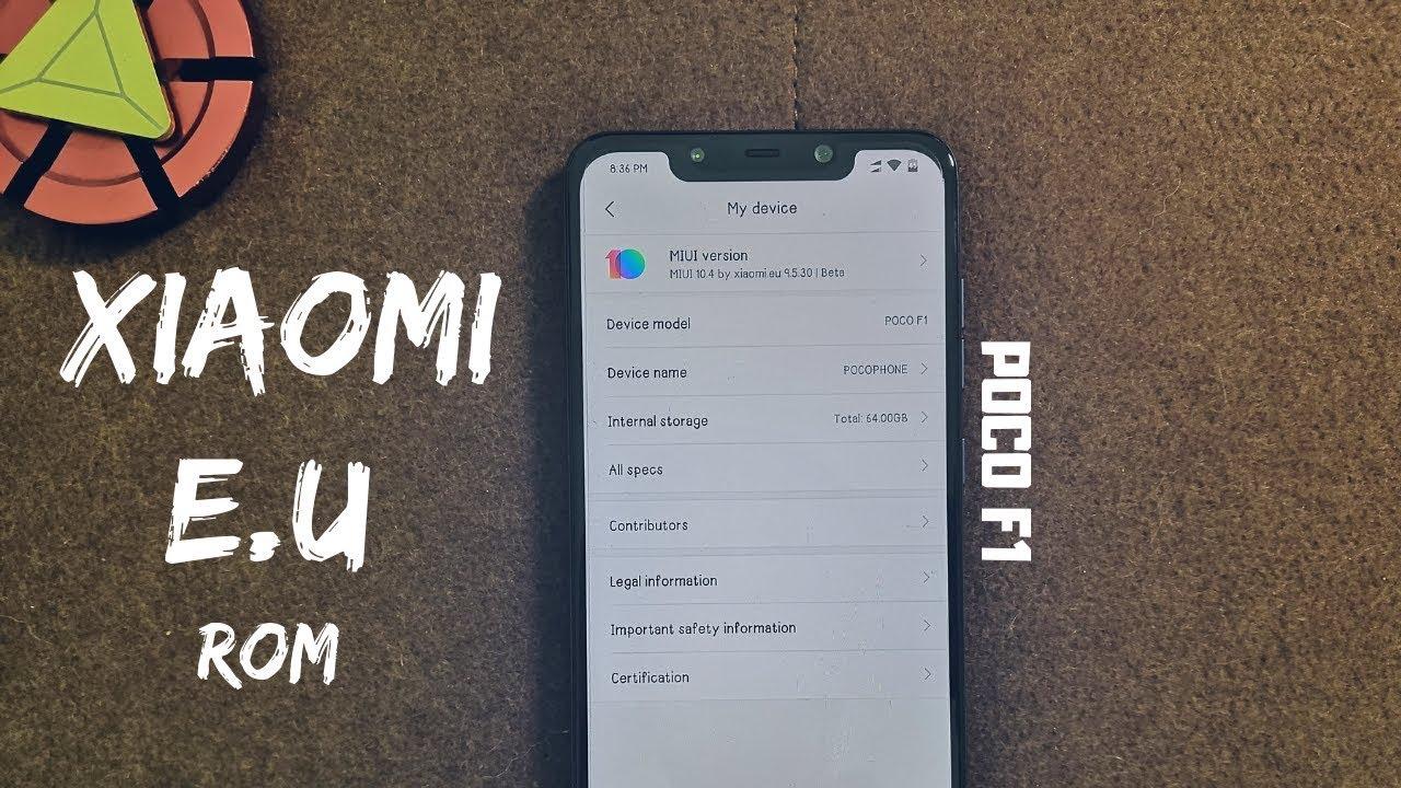 Xiaomi EU custom rom for poco f1 || complete review ||