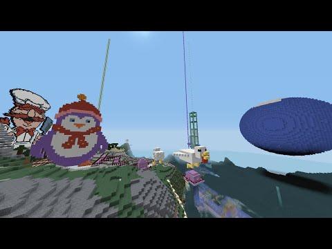 Minecraft LIVE! - Building and having fun at Sim Architect's #Minecraft World