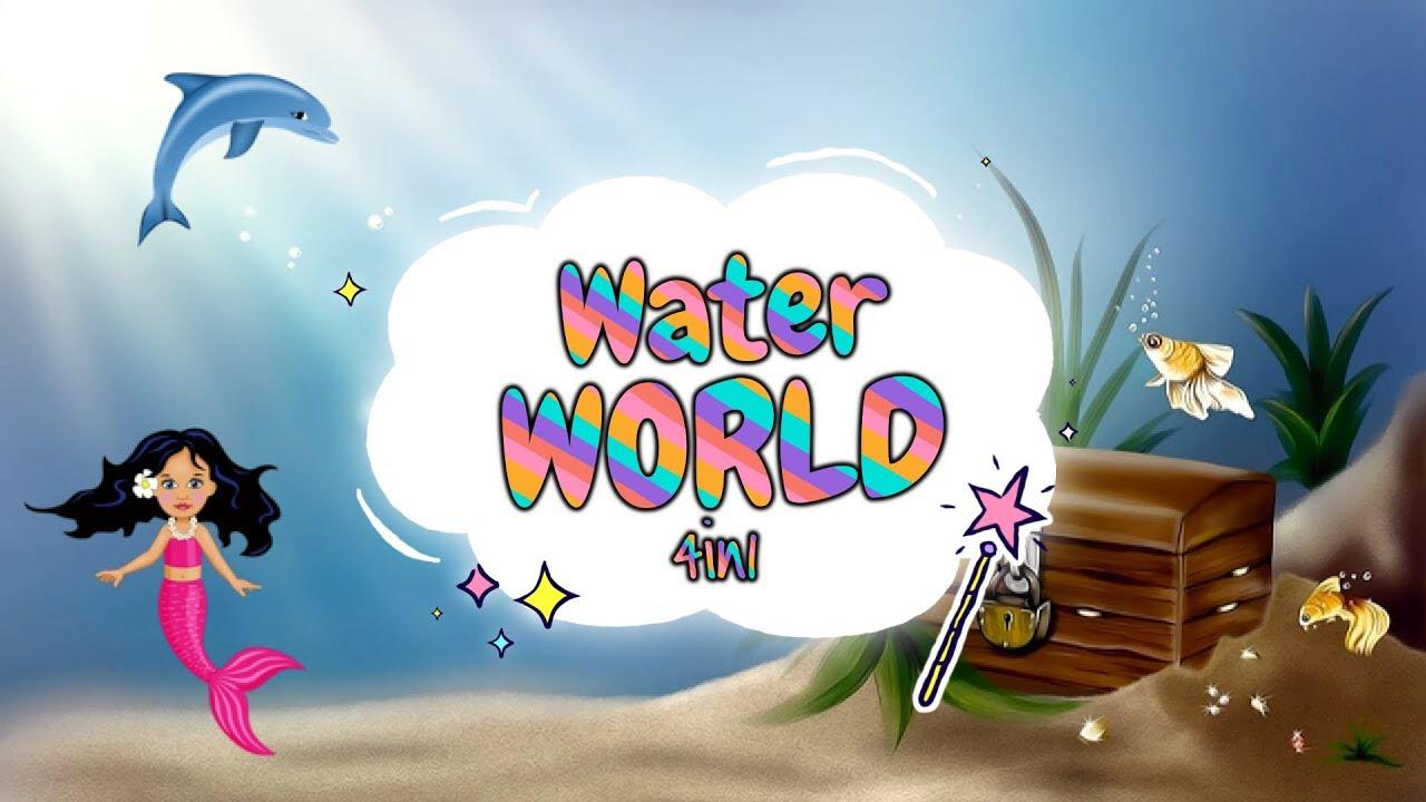 Download Sleep Meditation for Children | WATER WORLD 4in1 | Sleep Story for Kids