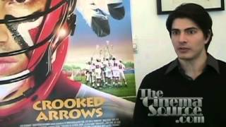 Brandon Routh Interview for the movie Crooked Arrows and Partners the CBS TV Series