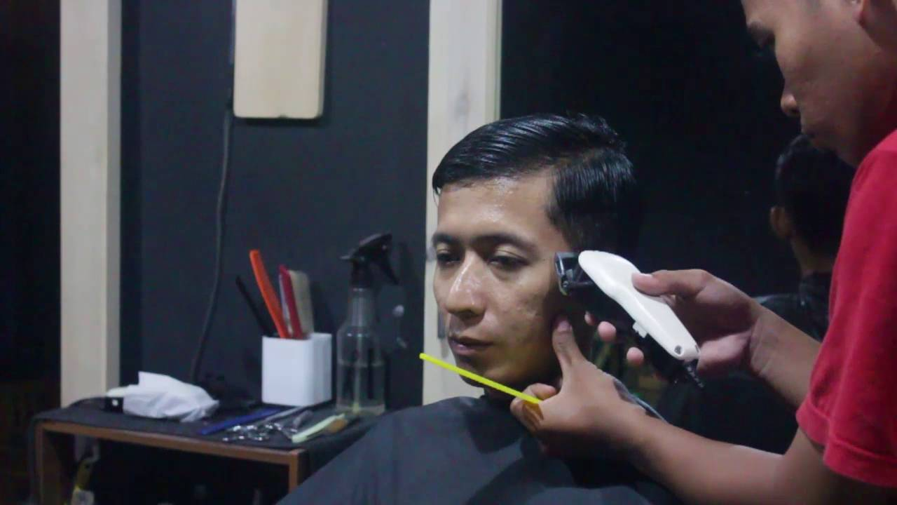 Superior UNDERCUT | KING BARBERSHOP | INDONESIA   YouTube