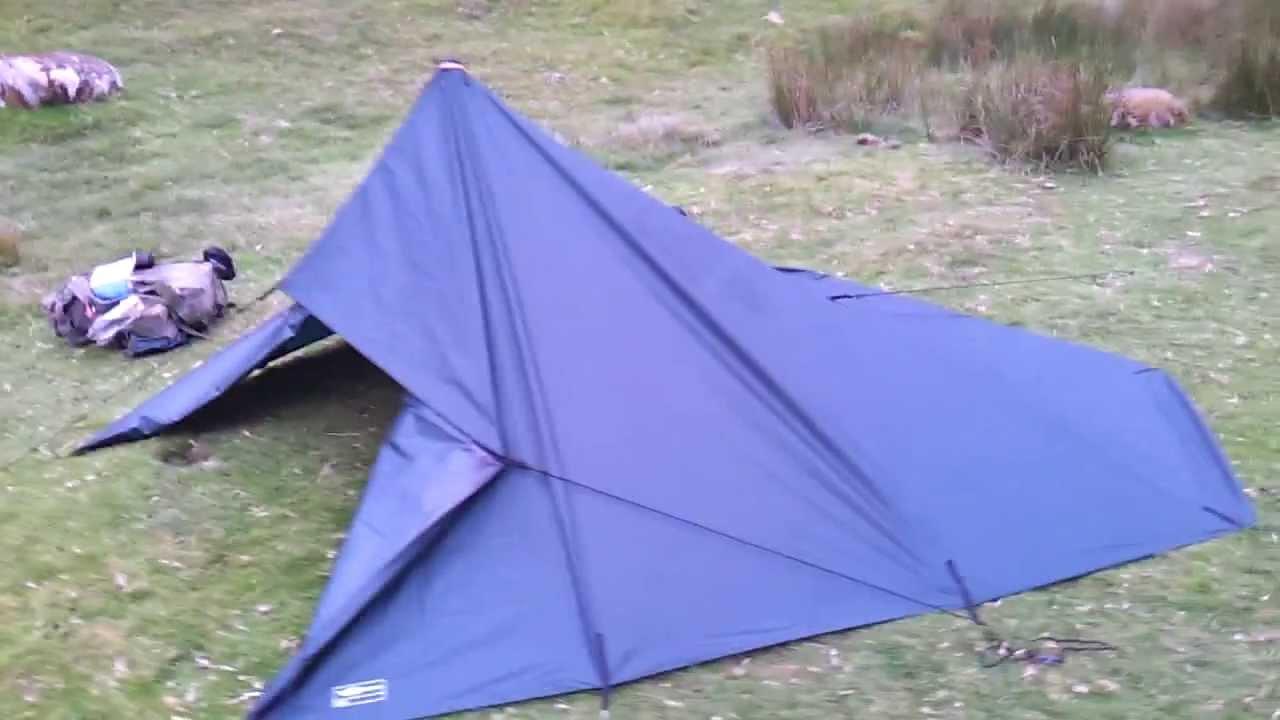 & DD Tarp - 3m x 3m tarp tent - YouTube