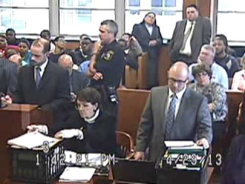Courtroom Outburst of Man Convicted of Child Abuse (Full Video)