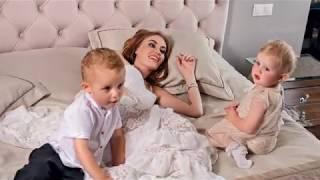 """Слава """"Неангелы"""" снялась в семейной фотосессии для Viva!"""