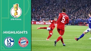 FC Schalke 04 vs. FC Bayern Munich 0-1 | Highlights | DFB-Pokal 2019/20 | Quarter Finals
