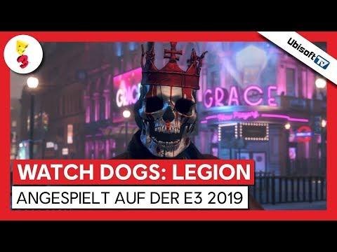 Watch Dogs: Legion - Angespielt | E3 2019 | Ubisoft-TV [DE]