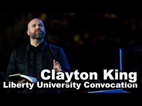 Clayton King - Liberty University Convocation