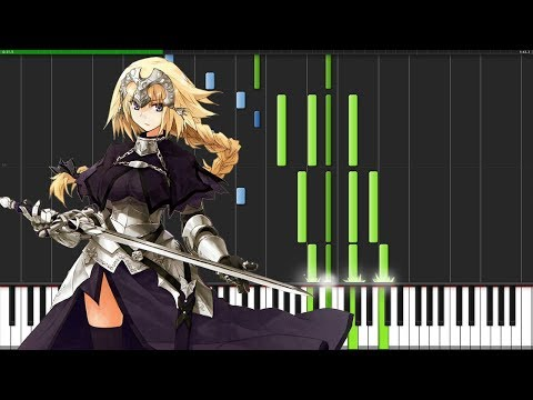 Désir - Fate/Apocrypha (Ending) [Piano Tutorial] (Synthesia) // RisingMelody
