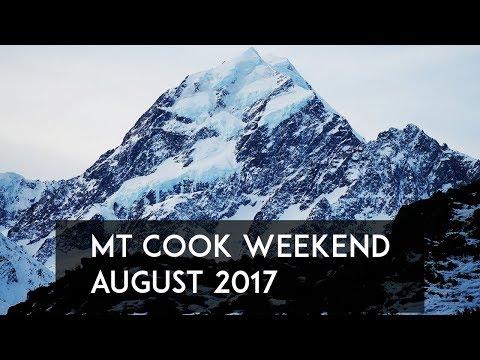 Aoraki / Mt Cook New Zealand Weekend