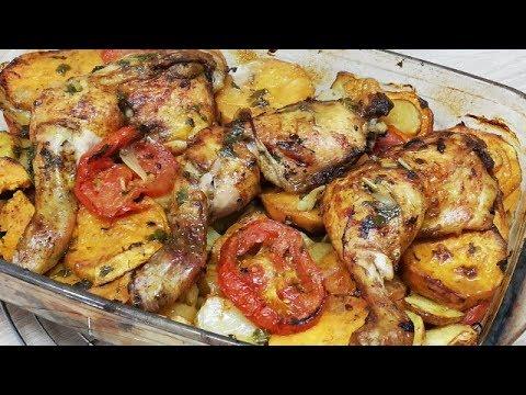 cuisses-de-poulet-aux-lÉgumes-Économique-et-facile-(cuisine-rapide)