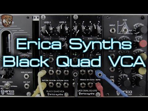 Erica Synths - Black Quad VCA
