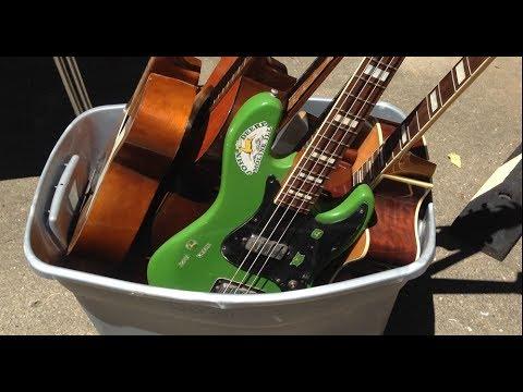 Guitar Hoarder YARD SALE!
