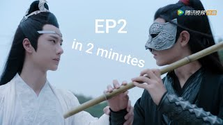 i shortened The Untamed's 2nd episode down to two minutes