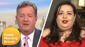 Piers Clashes With Model Angelina Duplisea on Whether Obesity Is Glorified | Good Morning Britain