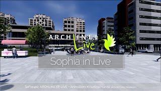 Sophia in ARCHLine.XP LIVE part 1