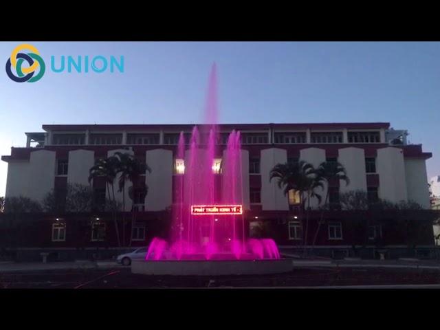 Công trình Đài phun nước tròn ĐakLak | UNION JSCO