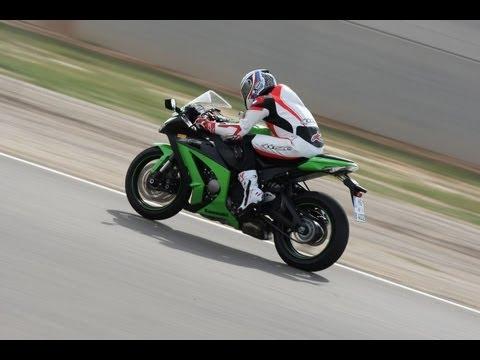 Kawasaki ZX10R Test & Fahrerimpressionen