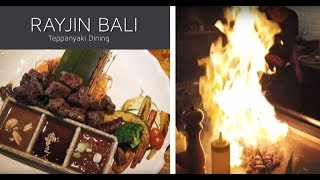 Gambar cover Japanese Teppanyaki Style at Rayjin Bali, Indonesia