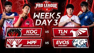 RoV Pro League Season 4 | Week 5 Day 3
