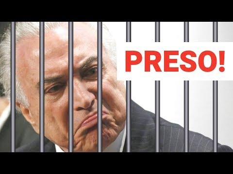 Michel Temer foi preso!