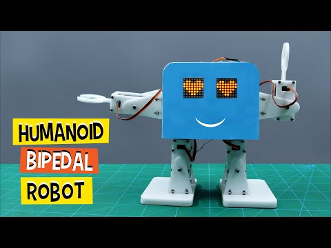 How To Make A Humanoid Bipedal Robot | DIY Projects