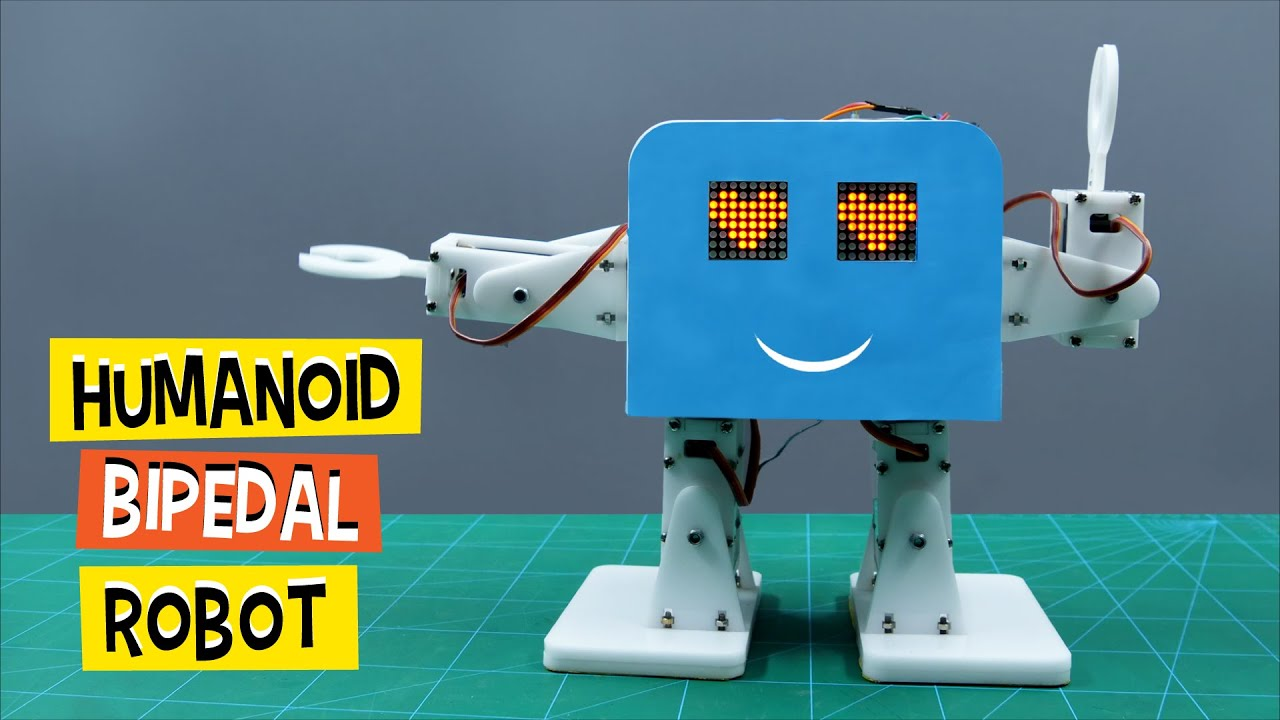 how to make humanoid robot