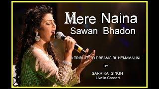 Download Mere Naina Sawan Bhadon | मेरे नैना सावन भादो | Sarrika Singh Live | Mehbooba (1976)