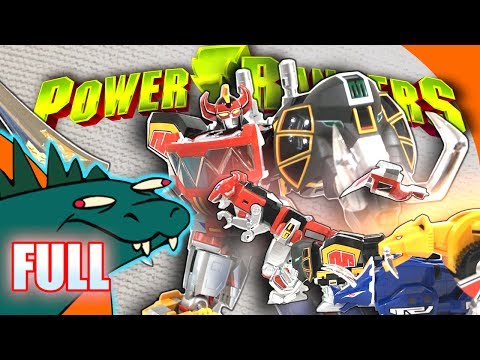 Megazord Power Rangers Soul of Chogokin GX-72 FULL Review [PART 1 and PART 2]