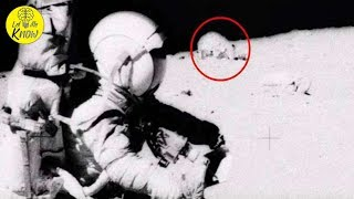 Conspiracy Theorists Say They've Spotted Proof Of A Secret U S  Project In This Moon Landing Footage