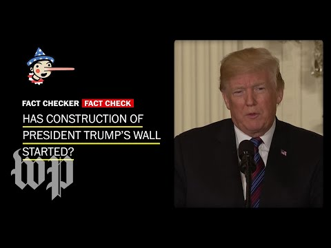 Fact Check: Has construction of Trump's border wall started? Mp3